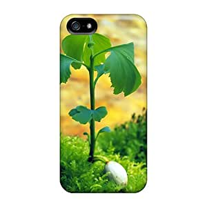 (xqk6381aULm)durable Protection Case Cover For Iphone 5/5s(plant Rises)