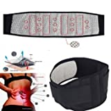 Tourmaline Self Heating Infrared Magnetic Therapy Back Support Brace Lumbar Spine Correction Belt