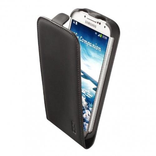Artwizz 0526-SJLF+S4BM SeeJacket Leder Flip-Plusfür Samsung Galaxy S4 I9500 / I9505 (Schwarz Matt )