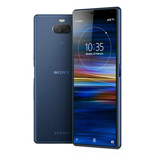 Sony Xperia 10 i4193 64GB/4GB Dual Sim (Navy Blue) - International Model - No Warranty in The USA - GSM ONLY, NO CDMA