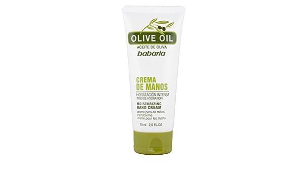 Babaria Olive Oil Crema Nutritiva de Manos - 75 ml: Amazon.es: Amazon Pantry