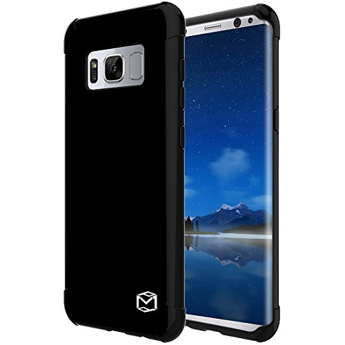 Galaxy S8 Plus Case, MP-Mall [Slim Fit] [Shockproof] Flexible TPU Gel Rubber Soft Skin Silicone Protective Case Cover For Samsung Galaxy S8 Plus