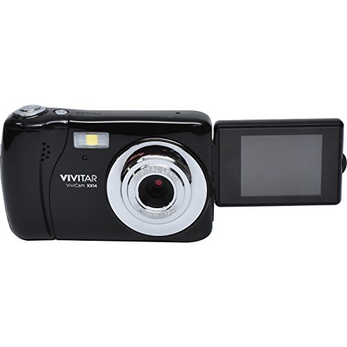 Vivitar VXX14 20.1 MP Selfie Cam Digital Camera, Black