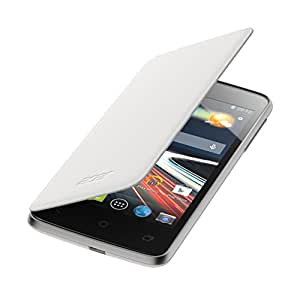 Acer FlipCover - Funda para móvil Acer Liquid Z4, blanco