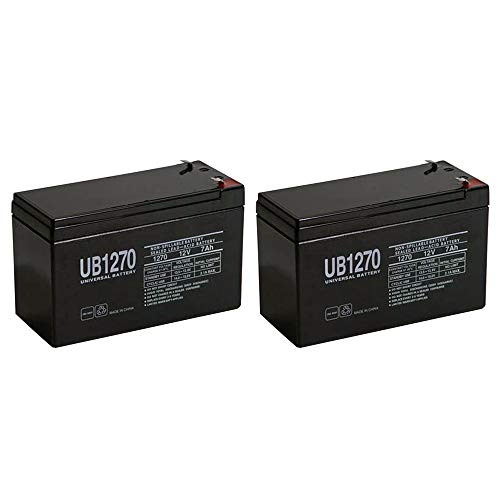 Batteries Rocket Pocket - Universal Power Group 12V 7AH New Razor Pocket Rocket PR200 Battery - 2 Pack