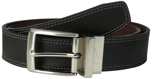 Nike Men's Classic Reversible Belt, Black/Brown, 36 - Nike Reversible Belt Accessories