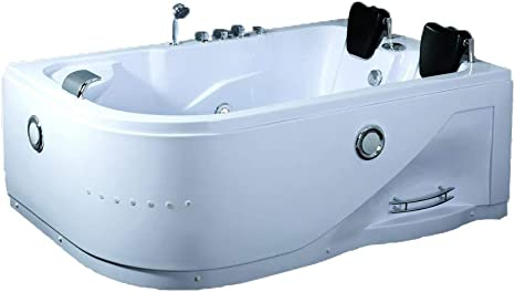 Sdi Factory Direct 2 Person Indoor Hot Tub Massage Bathtub Hydrotherapy Spa 052a White W Bluetooth Amazon Ca Terrasse Et Jardin