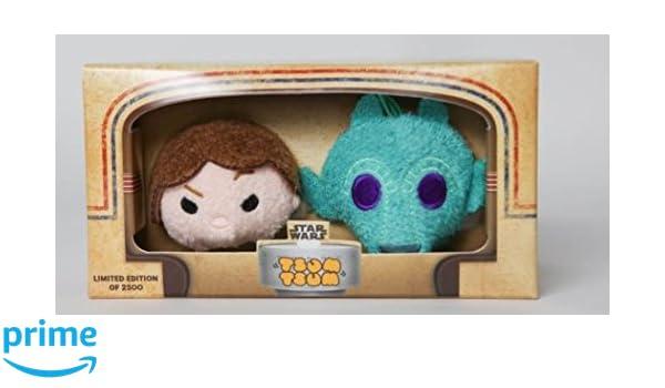 SDCC 2016 Disney Star Wars Tsum Tsum Han Solo /& Greedo