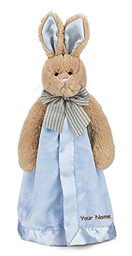 Bearington Lil Snuggler Blanket Blanky – 15インチ KN197501  Personalized Bunny Tail Snuggler B07BN443HJ