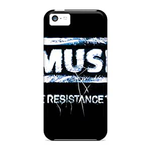 Shock Absorbent Hard Phone Cases For Iphone 5c With Allow Personal Design High-definition Muse Pattern PhilHolmes