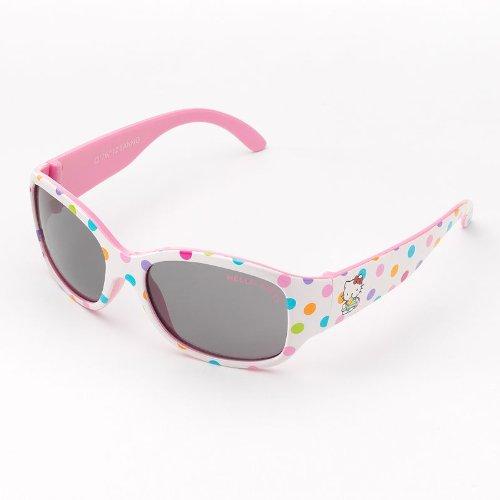 Hello Kitty Polka-Dot Rectangle Sunglasses by Riviera - ()