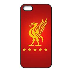 Liverpool Logo iPhone 5 5s Cell Phone Case Black yyfabd-218231