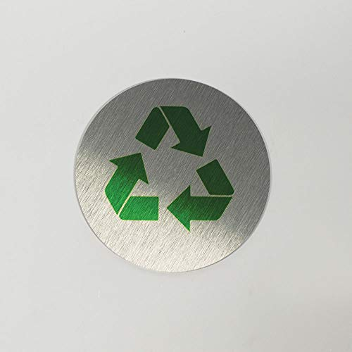 Metal Recycle Signs - 3