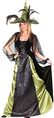 Fun World Women's Adult Goth Maiden Witch Costume,