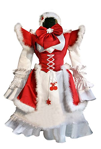 Red M&M Red Dress Adult Womens Costumes - Mtxc Women's Christmas Cosplay Costume Lolita