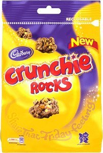 Nuggets Rocks - Cadbury Crunchie Rocks 110g