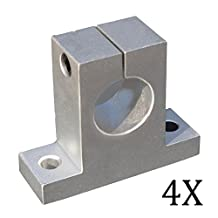 Pack of 4Pcs SK12 SH12A 12mm Linear Rail Shaft Support Block for Cnc Linear Slide Bearing Guide Cnc Parts