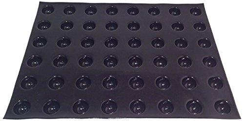 Sasa Demarle FP 02977 Flexipan 3.55-Ounce Half Sphere Pan, 48 Cavities, 18