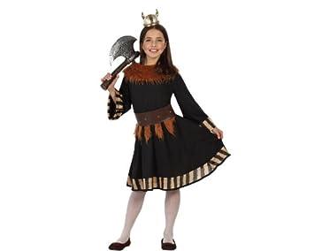 Atosa Disfraz para niñas de Vikinga: Amazon.es: Juguetes y juegos