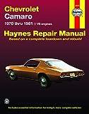 Chevrolet Camaro (70-81) Haynes Repair Manual