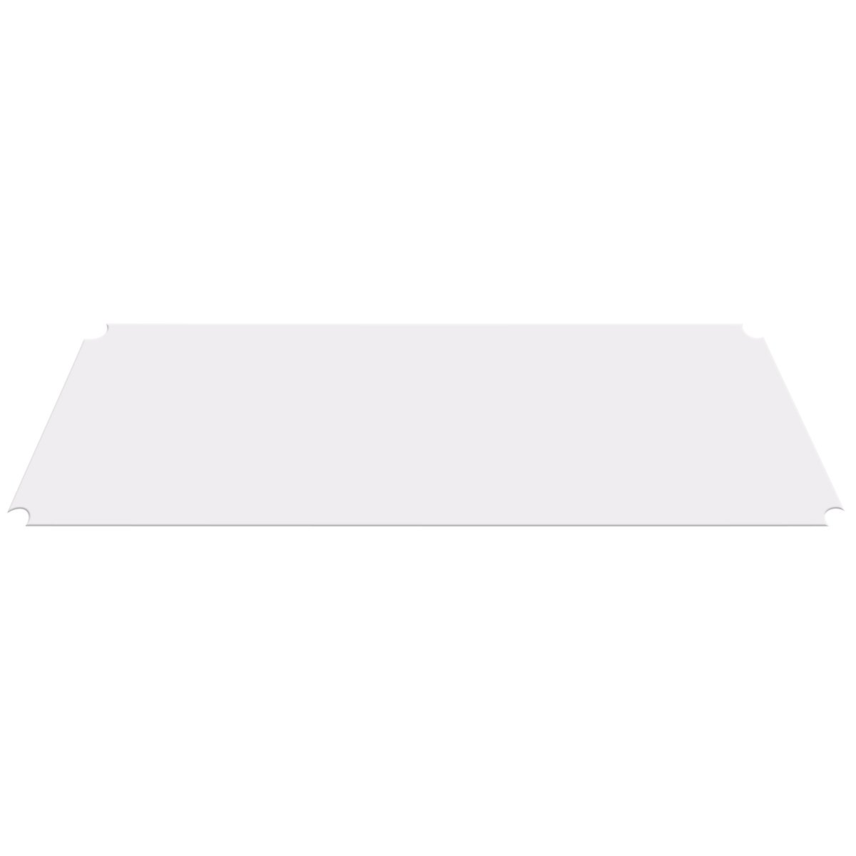 AKRO-MILS  AW2460LINER - Clear Shelf Liner for 24-inch X 60-inch Chrome Wire Shelf - Pack of 4