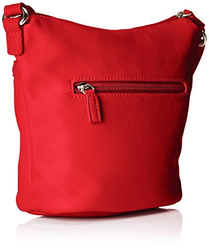 Mujer Rojo Bandolera David Bolsos 1 5944 Jones red CgOnqwS4F