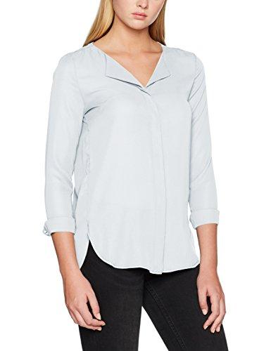 S Shirt Blouse Bleu Plein Femme Vilucy L Vila Air Noos tqwRE6H
