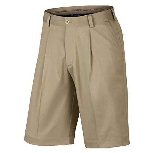 Nike Tour Pleated Golf Shorts (36 x One Size, khaki)
