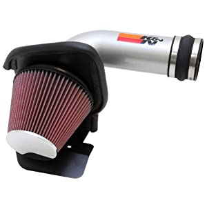 K&N Performance Cold Air Intake Kit 69-3531TS with Lifetime Filter for Ford Tarus SHO/Explorer Sport/Flex 3.5L V6 Turbo Ecoboost