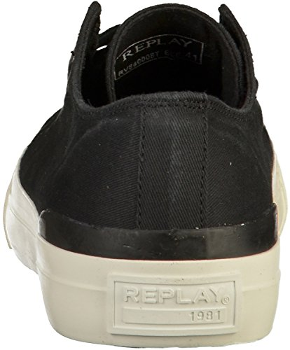 Hilist Homme Basses Sneakers Replay Noir O7qwnC