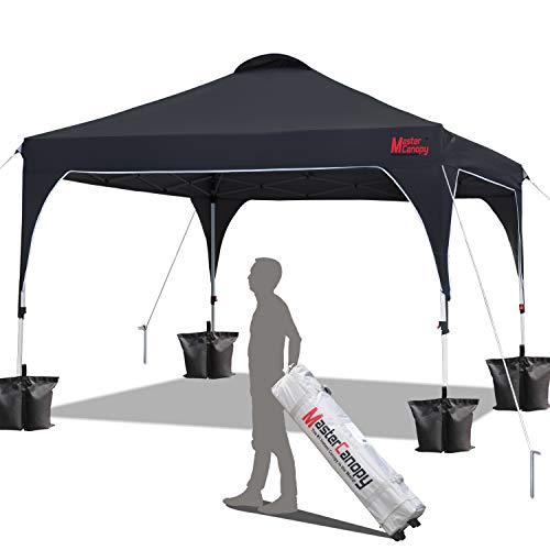 MASTERCANOPY Patio Pop Up Instant shelter 10x10 Beach Canopy Better