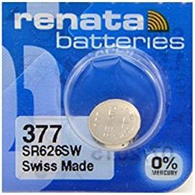 Renata 377 Silberoxid Batterie 5 Stück Baumarkt
