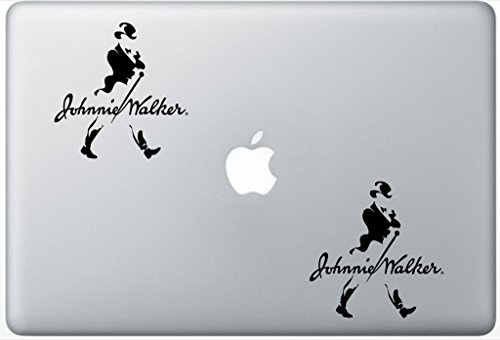 johnnie-walker-whiskey-alcohol-flashdecals2794-set-of-two-2x-decal-sticker-laptop-ipad-car-truck