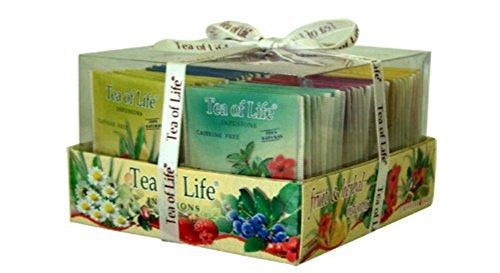 Tea of Life Fruit & Herbal Infusions 48 teabags by Tea of Life
