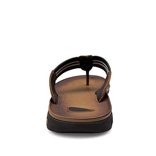 Sandalo Marrone uomo 39 EU da classico Color infradito infradito Dimensione Scarpe 2018 infradito Cachi uomo da con TpBnaqax