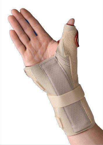 Thermoskin Thermal Wrist/Hand Brace with Thumb Splint, Ri...