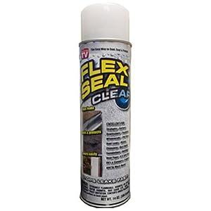 Flex Seal Spray Rubber Sealant Coating, 14 Oz, Clear