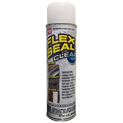 Flex Seal Spray Rubber Sealant Coating, 14-oz, Clear by Flex Seal