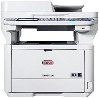 OKI MB491+LP - Impresora multifunción (LED, Mono, Mono, 40 ppm ...
