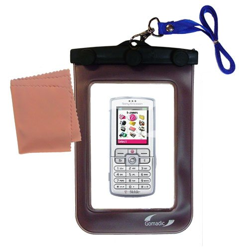 Underwater Case for the Sony Ericsson d750 / d750i – 天気、安全に保護防水ケースagainst the elements   B0049KQT84