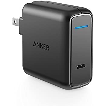 Anker USB Type-C with Power Delivery 30W USB Wall Charger, PowerPort Speed 1 for Nexus 5X / 6P, LG G5, Pixel C, Samsung W700, MacBook 2015 / 2016, Mate Book, Moto Z and more