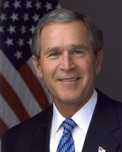 President George W. Bush - Official photograph portrait - 8x10 Glossy Photo (George Bush Best President)
