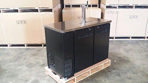48'' Keg Beer Dispenser w/ Stainless Steel Top UDD-24-48 Kegerator Refrigerator