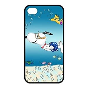 FashionFollower Personalized Animation Series Snoopy Lovely Shell Case For iphone4/4s IP4WN34019