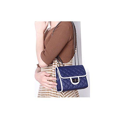 Nuove Capacidad Diagonal The Diagonale Azul Great colore Tracolla St Le Fashion color Dgf Borse Bag Dgf New San Di Bolsos Shoulder Modo Gran Handbags Rojo De wOUCOxq