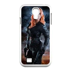 Black Widow Samsung Galaxy S4 9500 Cell Phone Case White Hsfwp