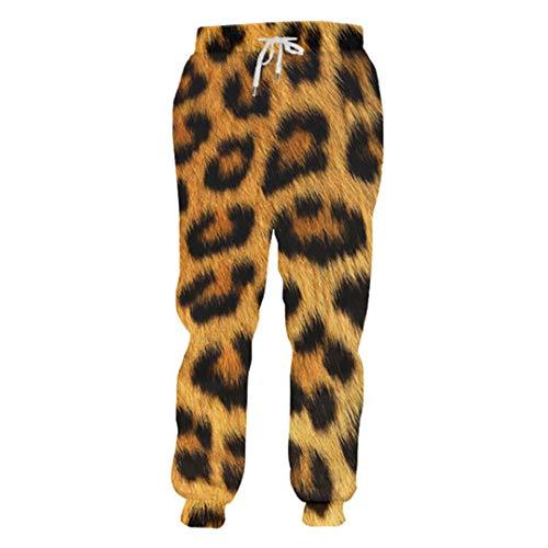 Leopard 3D Print Joggers Novelty Trousers Street Sportwear Casual Rock Sweatpants Autumn Winter Pants Men Women ar Pants XXXL]()