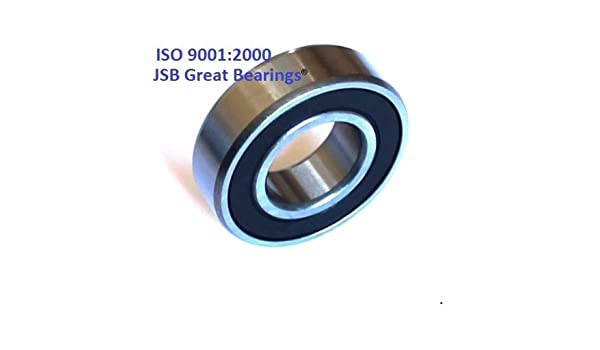 6210-2RS two side rubber seals bearing 6210-rs ball bearings 6210rs Qty. 1