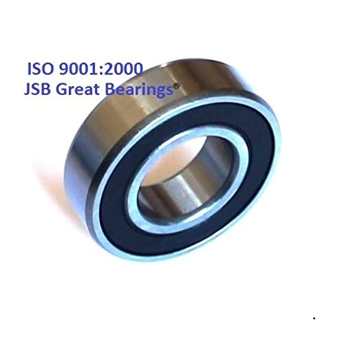 (Qty. 10) 6202-16-2RS 16 mm ID two side rubber seals bearing 16 x 35 x 11 bearings 6202-16 rs