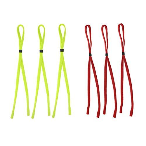3 de Retenedor Anteojos Gafas Sol Cordón Cuerda Magideal de Verde de Nylon Gafas de Piezas pwvCdE5q
